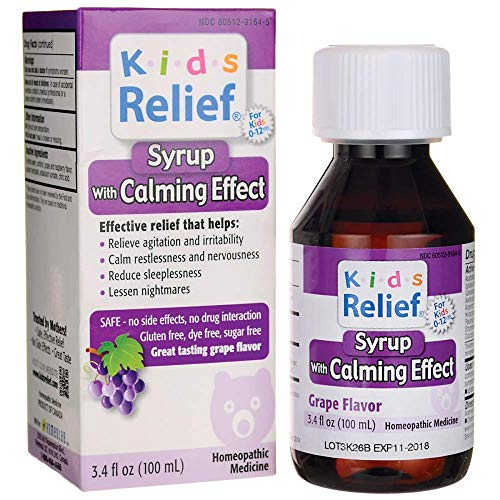 HOMEOLAB Kid's Relief Calm Grape, 3.4 FZ ()