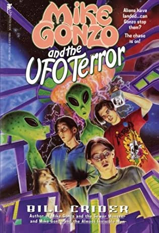 book cover of Mike Gonzo and the UFO Terror