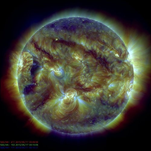 Nustar Telescope Stares At The Sun Poster Art Photo Space Posters Artwork Photos 12X12