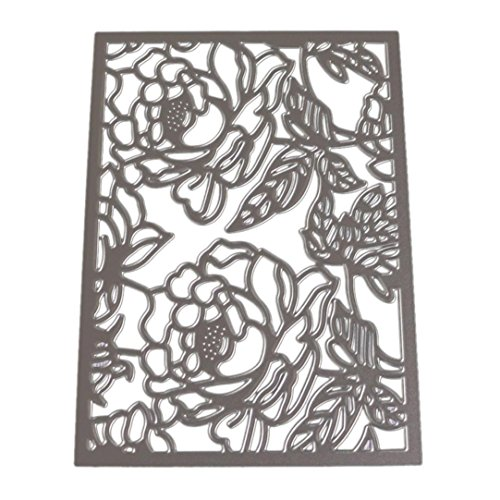 TOPUNDER Flower Heart Metal Cutting Dies Stencils DIY