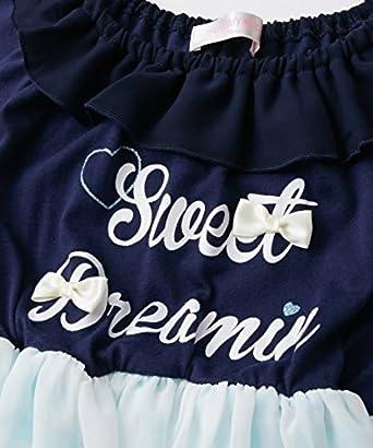 75ac53c600046 Amazon.co.jp: [nissen(ニッセン)] オフショル風ドッキング ワンピース 女の子 子供服 ジュニア服 女の子 キッズ: 服 &ファッション小物