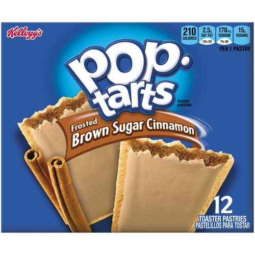 Pop-Tarts Frosted Brown Sugar Cinnamon Pastries (Pack of 10)