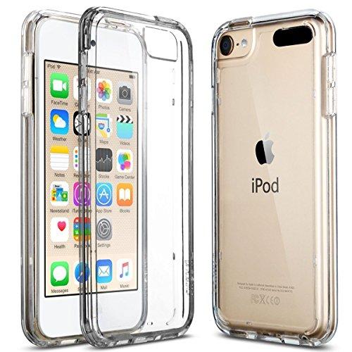 iPod 5 / 6 Carcasa, ULAK® iPod Touch 5 / 6 Funda Case CLEAR SLIM Cubierta de la caja Transparente Soft Gel Flexible Thin TPU piel Resistente a los arańazos para Apple iPod Touch 5 / 6 generación Transparente