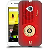Head Case Designs Techno Vintage Radio Phone Protective Snap-on Hard Back Case Cover for Motorola Droid Turbo...