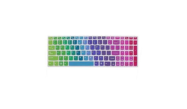 Amazon.com: Laptop 7 Cores teclado de silicone pele para cobrir película para o IdeaPad Z560: Electronics