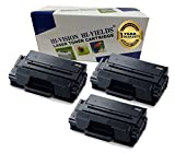 HI-VISION Compatible MLT-D203L / XAA High Yield Laser Toner Cartridge for Samsung ProXpress M3320ND, M3370FD, SL-M3820DW, M3870FW, M4020ND, M4070FR Printer (203L, Black 3 Pack)