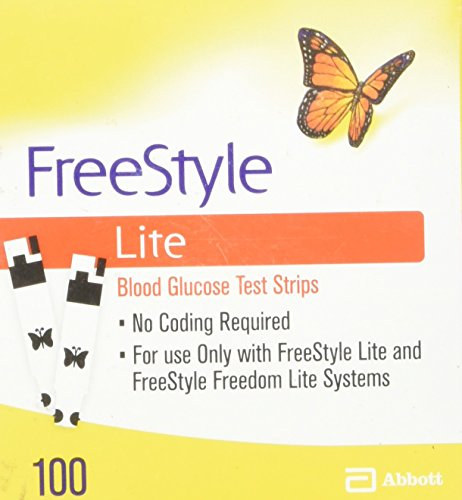 FreeStyle Lite Test strips, 100 ct by Freestyle Lite