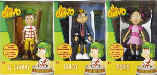 EL CHAVO - 6 inch DELUXE Poseable Figure Collection (El Chavo, Quico, La Popis)