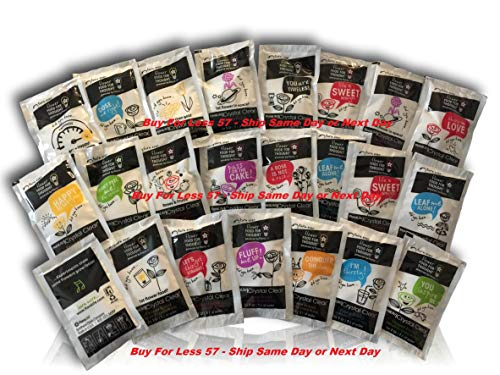 Cut Flower Food Floralife Crystal Clear 100 Powdered Packets (10gr Packets, Not The 5gr) 2019 Stock, New Design