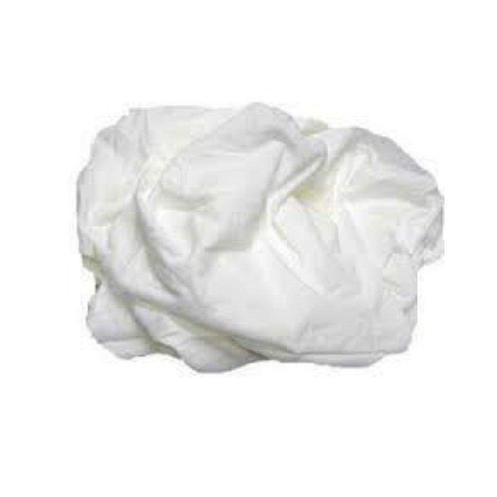Pro-Clean Basics A99408 White T-shirt Rags Pallet