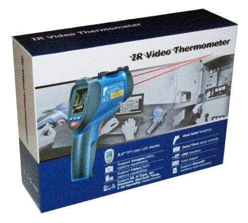 Ruby Electronics DT-9862 Professional 50:1 IR Dual Laser Vid