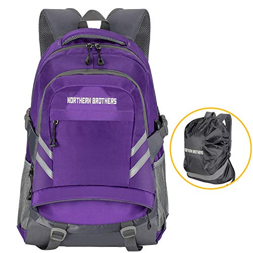 NORTHERN BROTHERS Bookbag,Backpack College School Anti-Theft Backpack USB Charging Port Travel Business Backpack Teen Girls Boys High School