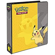 Amazon #LightningDeal 84% claimed: Ultra Pro Pokemon Pikachu 3-Ring Binder Card Album, 2-Inch