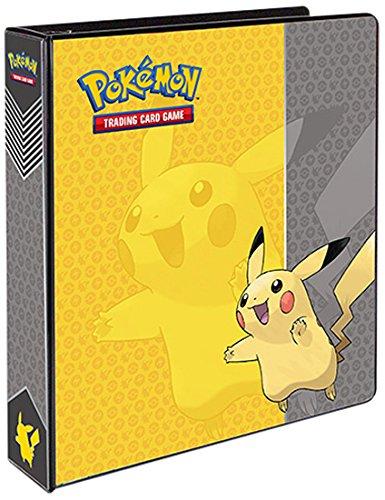 Amazon #LightningDeal 84% claimed: Ultra Pro Pokemon Pikachu 3-Ring Binder Card Album, 2-Inch