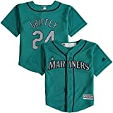 Ken Griffey Jr. Seattle Mariners Teal Toddler Cool Base Replica Alternate Jersey