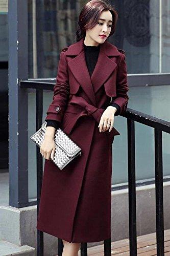 Generic Korean woolen coat 2018 fall winter clothes _in_ long _section_  woolen cape coat woolen coat