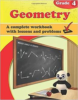 Geometry, Grade 4 Workbook