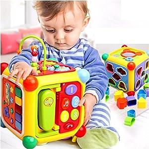 GoAppuGo 6-in-1 Educational Activity Toy...