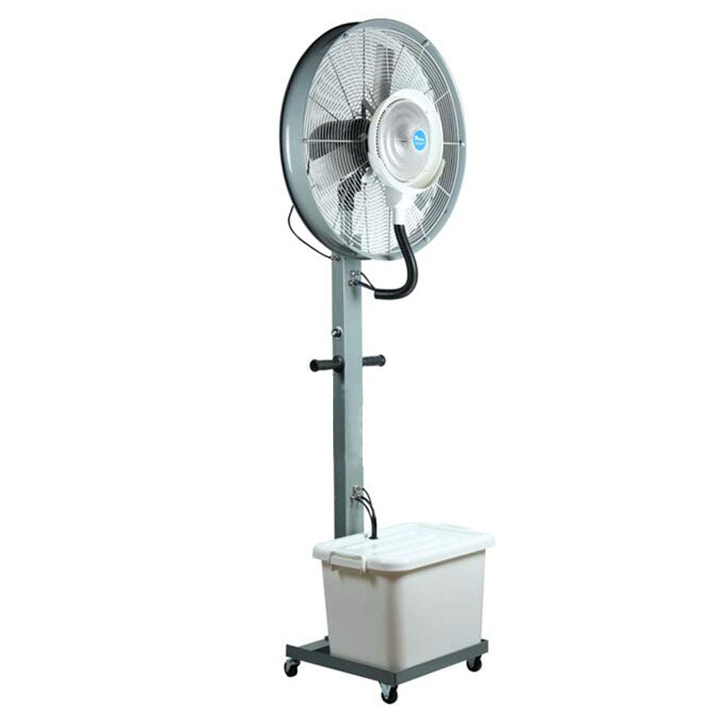 QDY-Pedestal Fans Air Circulator Fan Moving Head Fan Misting Oscillating Fan Powerful Spray Industrial Outdoor Strong Cooling Floor Stand Fan (Size : 26 x 79 Inch) Wind Machine Fan by QDY-Pedestal Fans