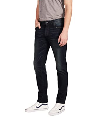ddcd6d8fa83 Aeropostale Mens Reflex Skinny Fit Jeans Blue 28x30 at Amazon Men's ...