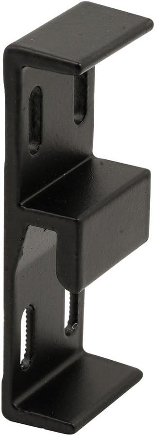 Prime-Line Products E 2049 1-1/16 Wide Extruded Aluminum Sliding Door Keeper, Black