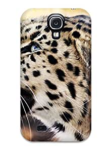 Snap-on Leopard 1080p Case Cover Skin Compatible With Galaxy S4