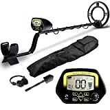 "Product review for AMYSPORTS Waterproof Accuracy Metal Detector Professional Hand Held Gold Metal Detectors Best Underground Deep Coin Metal Detector's 10"" Search Coil for Adults"