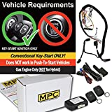 MPC Complete 1-Button Remote Start Kit for 2011-2014 Ford F-150 - Key-to-Start - Prewired - with T-Harness