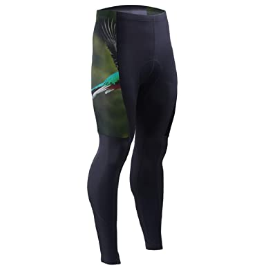 47c3835b34579f Bei Tang Flying Resplendent Quetzal Mens Cycling Pants 3D Padded Outdoor  Bike Leggings Cyclist Wear