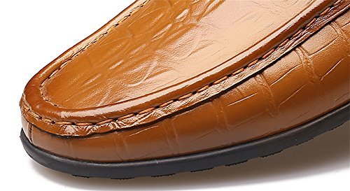 Casual Fashion 38 Leather brown Shoes Shoes Seasons 43 Casual Shoes Business Shoes Men's Four XIE qSwv7IpI