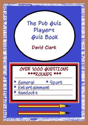 The Pub Quiz Players Quiz Book