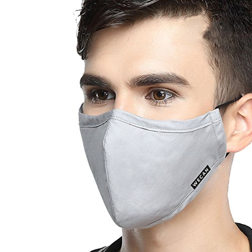 Xianheng Mouth Mask Anti Dust Pollution Warm for Men Women Travel Ski Cycling Running Outdoor Protection Light Grey by