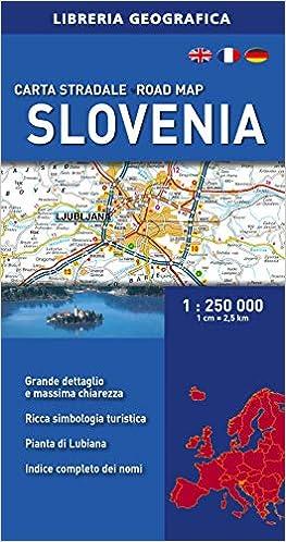 Cartina Slovenia Stradale.Amazon It Slovenia Carta Stradale 1 250 000 Libri