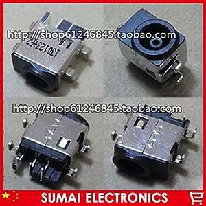 ARBUYSHOP 300pcs Jack conector de alimentación original NUEVO DC para Samsung RV510 RC510 RC410 RC511 RV511 DC Jack