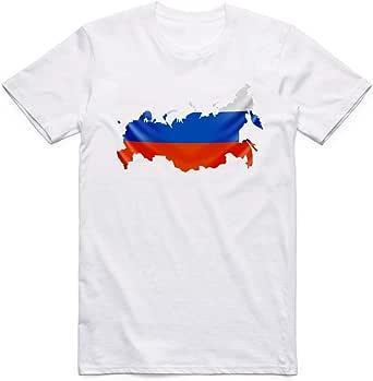 تي شيرت علم روسيا -رجال