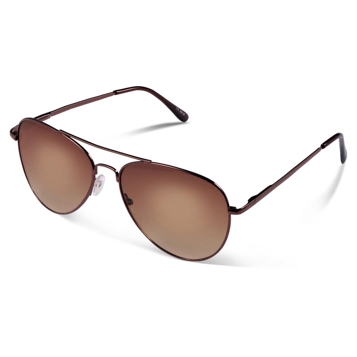 Duduma Prämie Pilotenbrille Flieger Sonnenbrille UV400 Schutz Optimal Entwurf Herren und Frauen Sonnenbrillen Du7802