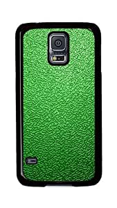 Samsung Galaxy S5 Case, S5 Cases - Green Traces The Background Ultimate Protection Scratch Proof Soft TPU Rubber Bumper Case for Samsung Galaxy S5 I9600 Black