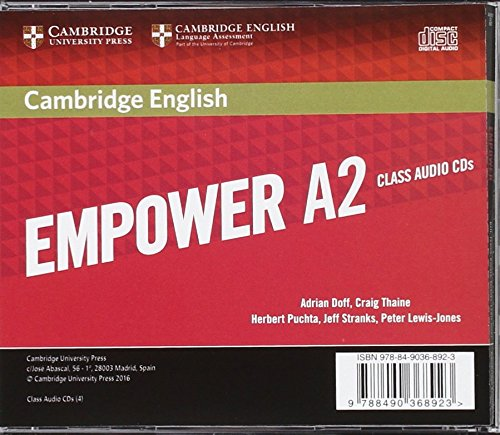Cambridge English Empower for Spanish Speakers A2 Class