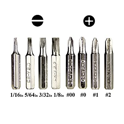 Swatom 8 in 1 Mini Gadgets Repair Tools Pen Style Precision Screwdriver Set Kit, Home Improvement (Blue): Home Improvement