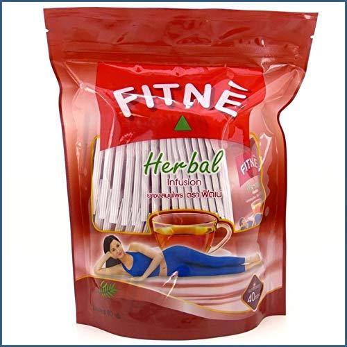 Good Seller ! Fitne Herbal Infusion Original Senna Slimming Tea 40 Bags Made Thailand