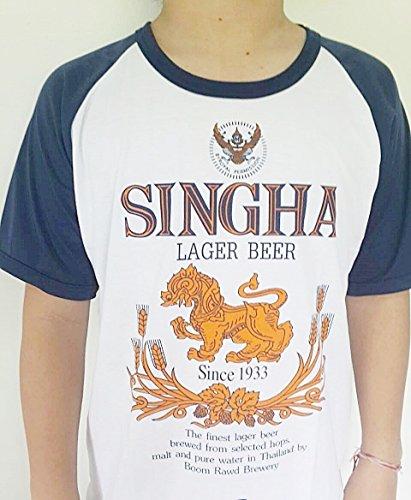 t-shirts-short-sleeves-singha-beer-thai-brewery-football-mens-m-white