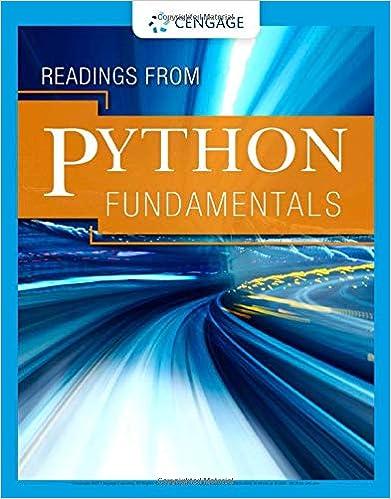 Readings from Python Fundamentals - Original PDF