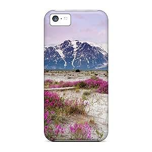 Defender Case For Iphone 5c, Moonrise On St Elias Mountain Alaska Pattern