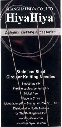 Hiya-Hiya 16 Inch 40 cm Circular Bamboo Knitting Needles