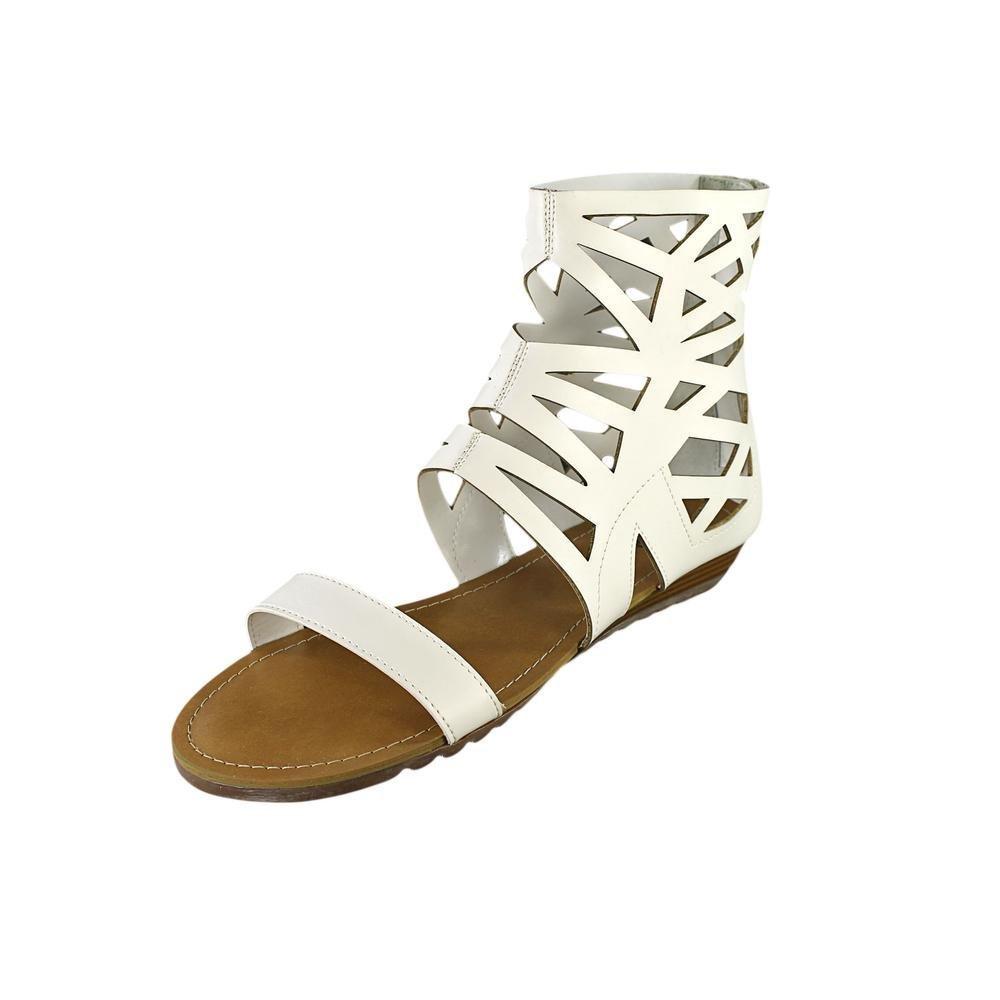 Carlos by Carlos Santana Women's Hilo Gladiator Sandal B00FEM6Q02 8 B(M) US|White