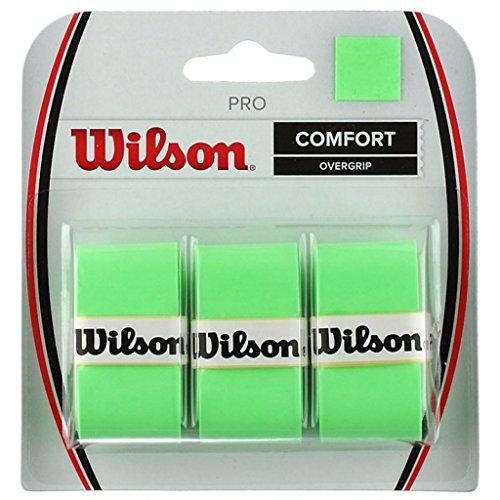 Wilson Pro Overgrip Comfort - 3 pack - Blade Green (Tennis Grip Wrap)