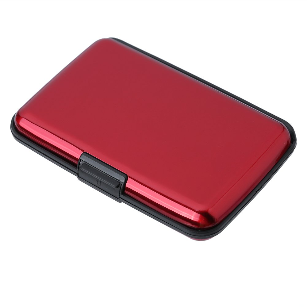 Cartes de cr/édit Protector Pendant Le Voyage ou daffaires Mengshen RFID Blocking Wallet//Case//Holder PX07 Rose