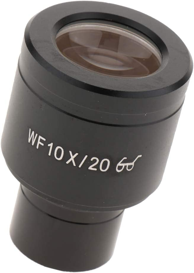 WF10X 20mm Lab Wide Field Angle Hight Eyepiont Eyepiece Lens for Biological Microscope Mounting Size 23.2mm
