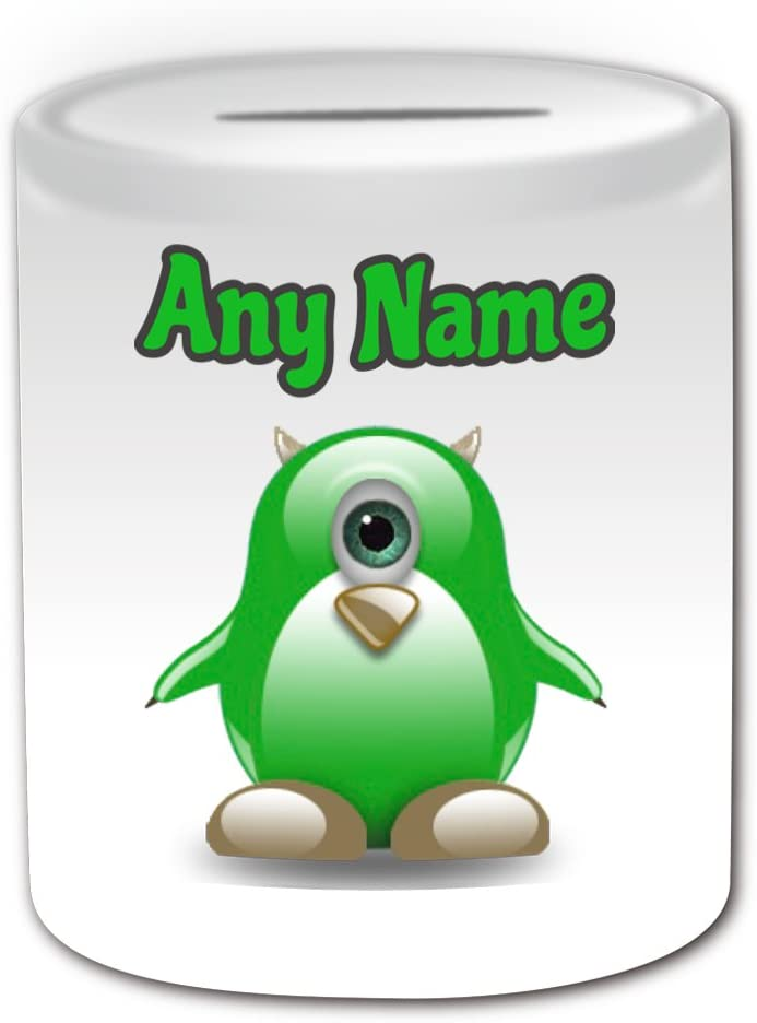 Regalo personalizado – Mike Wazowski caja de dinero (pingüino ...