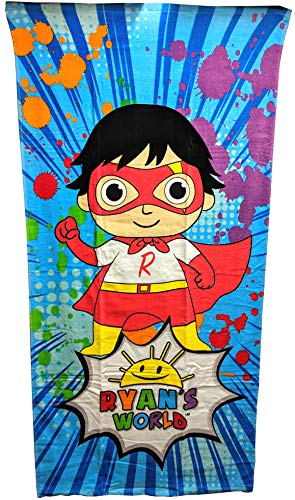 Ryans World Kids Beach Towel 28 x 58